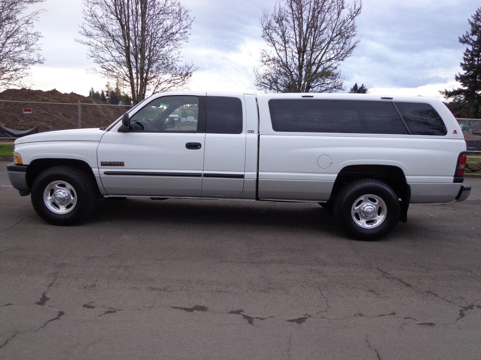 2001 dodge ram 2500 base extended cab pickup 5 9l for sale. Black Bedroom Furniture Sets. Home Design Ideas