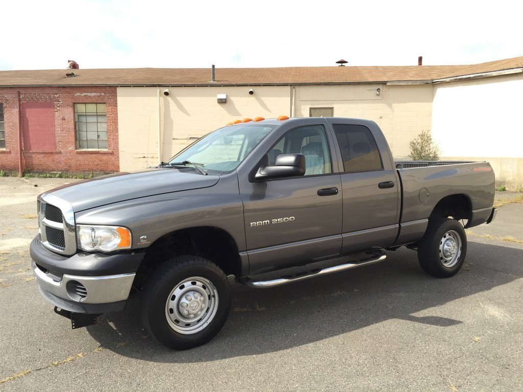 2005 Dodge Ram 2500 Crew Cab 5 9l Cummins Turbo Diesel For