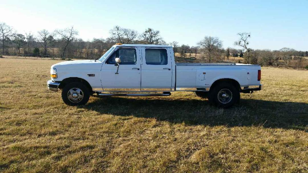 1995 ford f350 powerstroke dually for sale. Black Bedroom Furniture Sets. Home Design Ideas