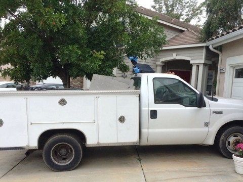 1999 Ford F 350 Super Duty w/ 11ft Royal Service Bed for sale