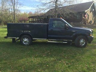 2002 F 350 7.3 Diesel XL Utility for sale