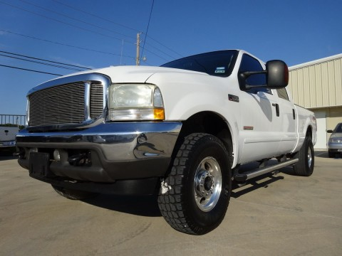 2004 Ford F 250 CREW CAB Leather 4X4 for sale