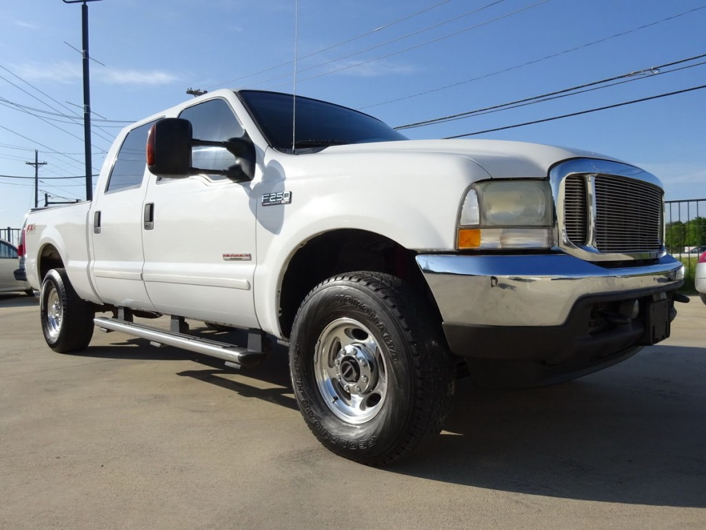 2004 ford f 250 crew cab leather 4x4 for sale. Black Bedroom Furniture Sets. Home Design Ideas