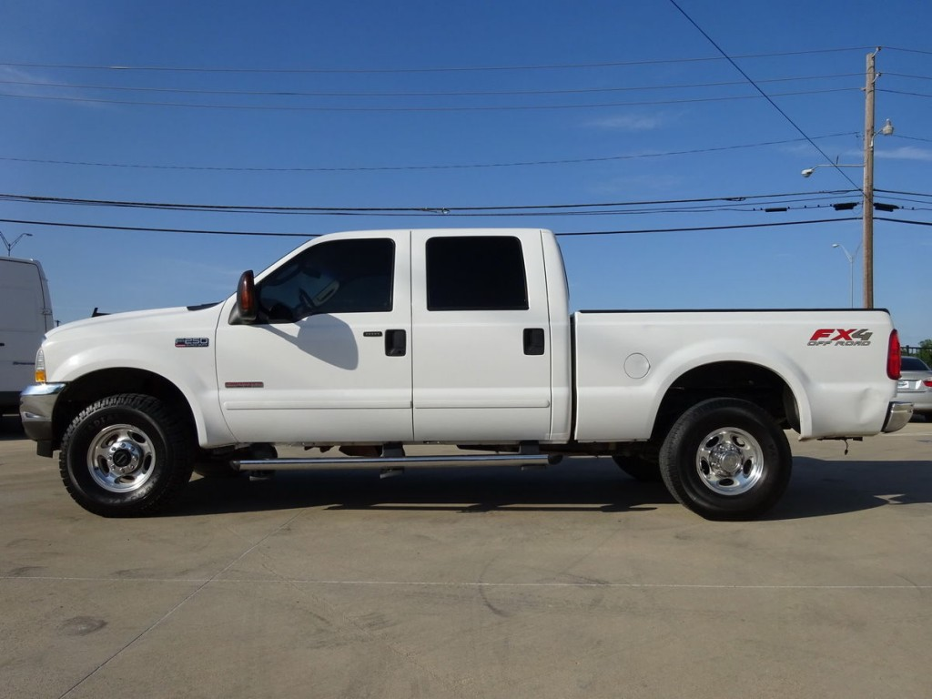 2004 Ford F 250 CREW CAB Leather 4X4