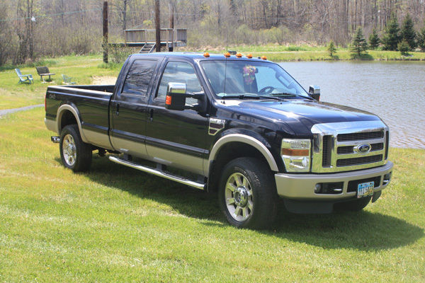 2008 ford f 350 4 4 crewcab lariat king ranch for sale. Black Bedroom Furniture Sets. Home Design Ideas