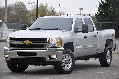 2012 Chevrolet Silverado 2500hd Crew Cab Z71 6.6L Duramax Turbo Diesel for sale