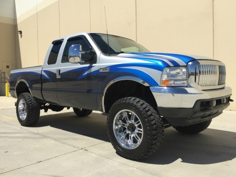 Custom 2001 Ford F250 Supercab 4X4 Shortbed 7.3 Powerstroke Turbo Diesel for sale