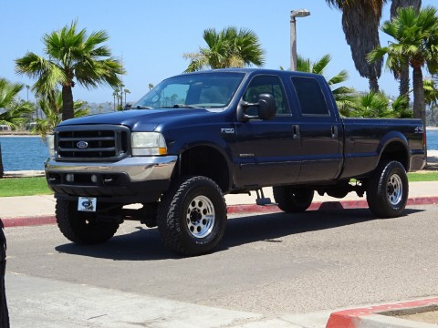 2002 Ford F-250 XLT 7.3L Diesel Crew Cab 4×4 for sale