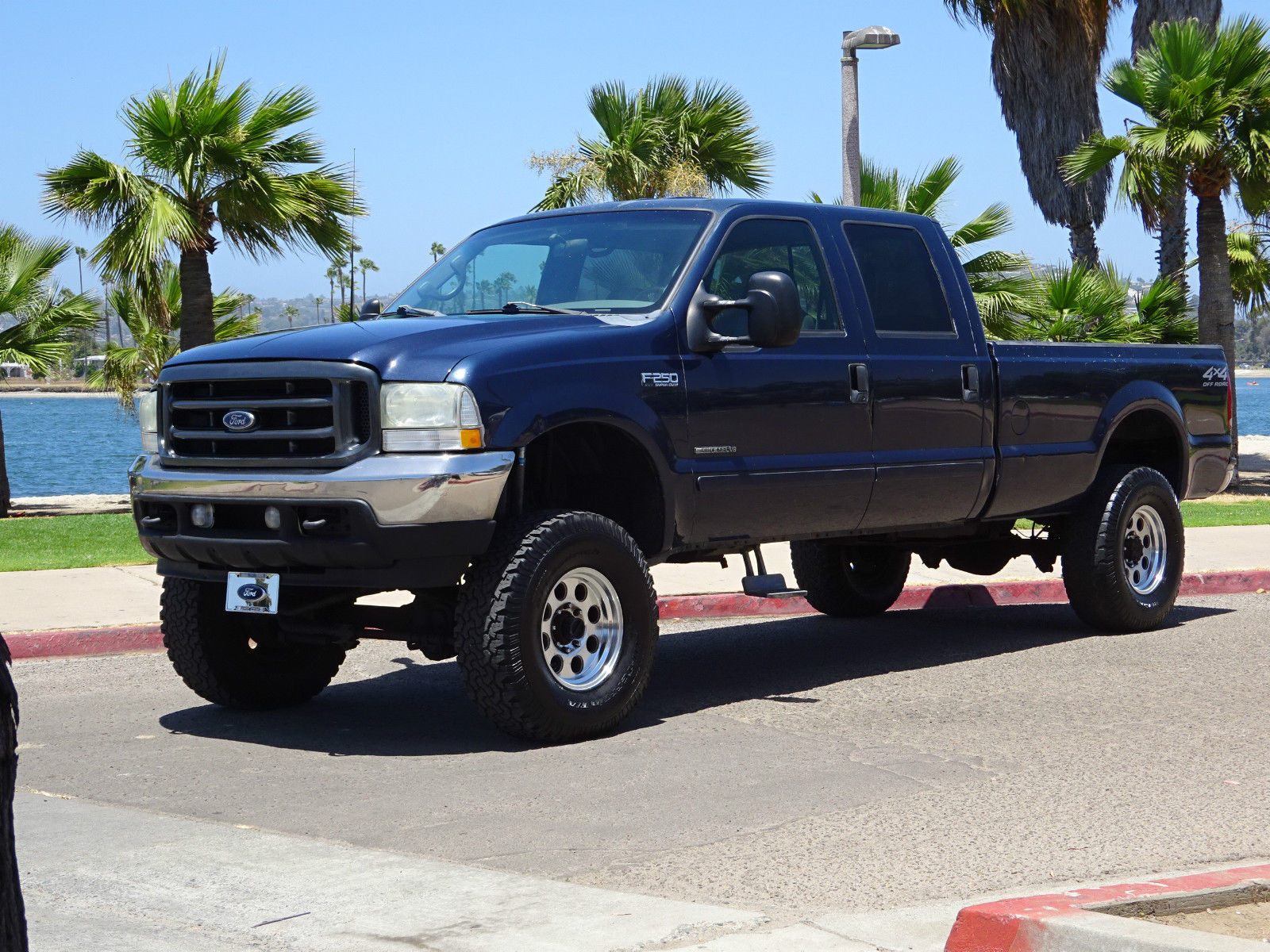 2002 Ford F250 Crew Cab 73 Diesel for sale