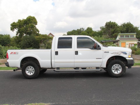 2004 Ford F-250 4×4 Crew Cab Diesel 6.0 L for sale