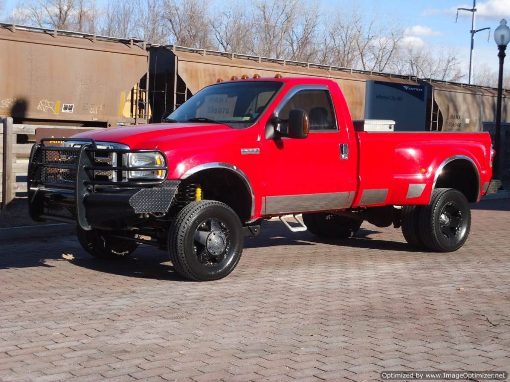 Dually 2006 Ford F 350 Xlt Diesel Lifted Regular Cab For Sale