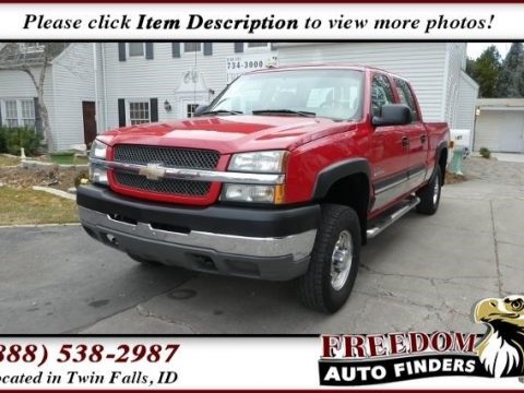 Very well maintained 2004 Chevrolet Silverado 2500 LT for sale