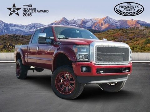 AMAZING 2015 Ford F 250 Platinum for sale