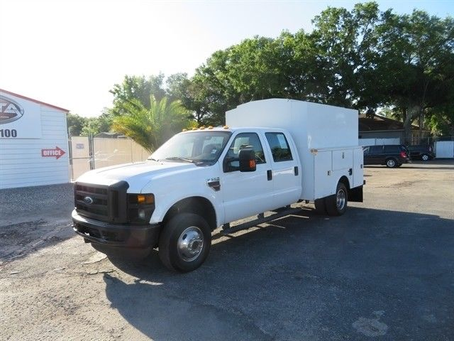 GREAT 2008 Ford F 350 Utility