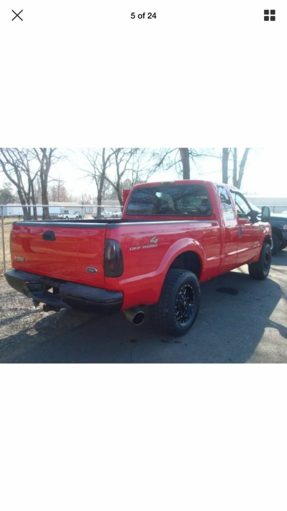 2004 Ford F 250 XLT – Bullet proofed